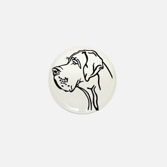 Daneportrait Mini Button