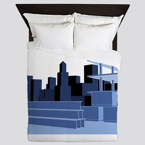 Structural_Engineering_Construction_Si Queen Duvet
