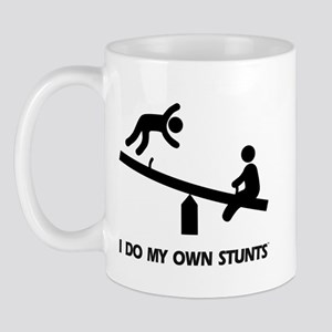 Fall off a see saw. Stunts Mug