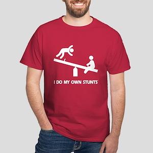 Fall off a see saw. Stunts Dark T-Shirt