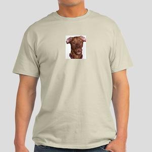 Silly Vizsla Smile Light T-Shirt