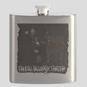 crucial-ballistix-tracer-design-white-tshirt Flask