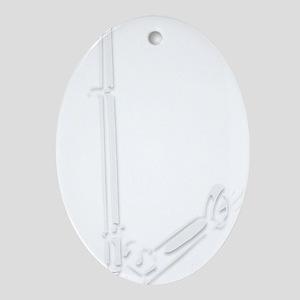 rapidTransitLight Oval Ornament