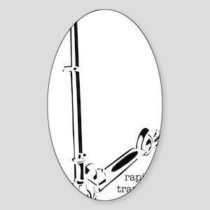 rapidTransit Sticker (Oval)