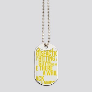 SatisfactionGold Dog Tags