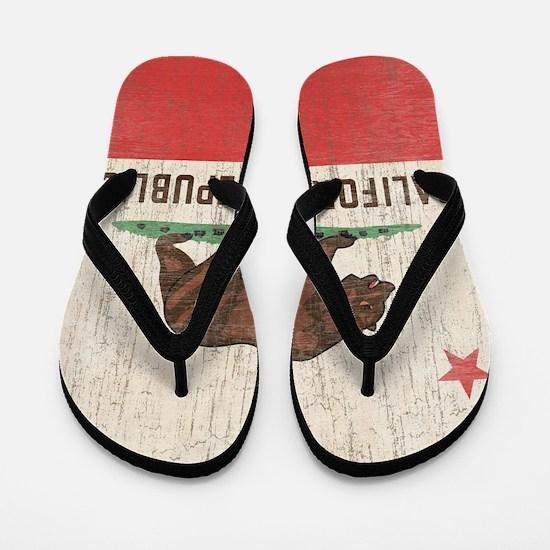 VintageCaliforniaRe1SC Flip Flops