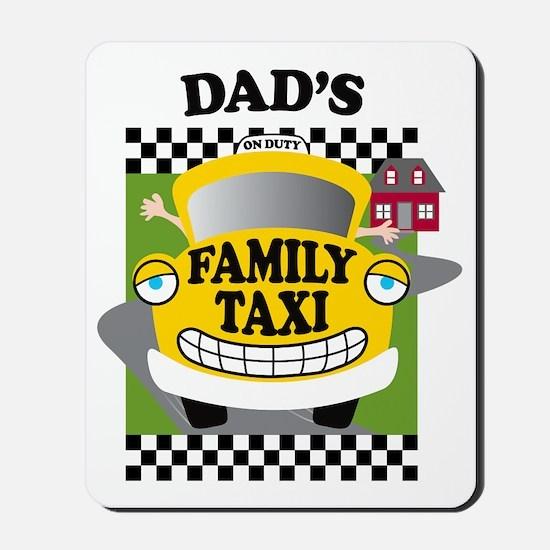 familytaxiDADK Mousepad