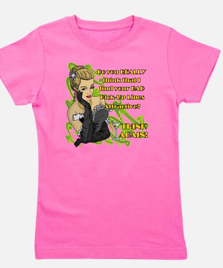 BAD-PICK-UP-LINES Girl's Tee
