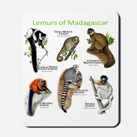 Lemurs of Madagascar Mousepad