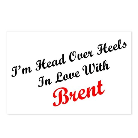 In Love with Brent Postcards (Package of 8)