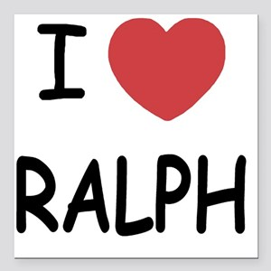 "RALPH Square Car Magnet 3"" x 3"""