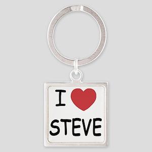 STEVE Square Keychain