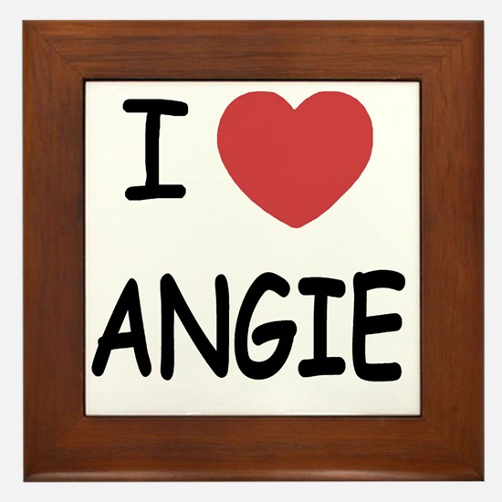 ANGIE Framed Tile