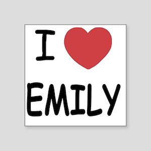 "EMILY Square Sticker 3"" x 3"""