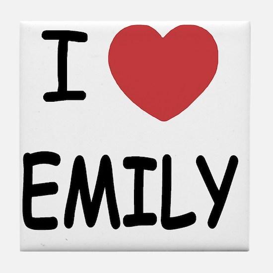 EMILY Tile Coaster