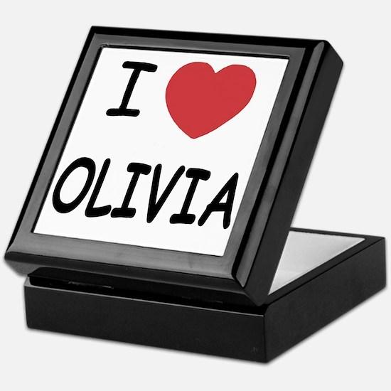 OLIVIA Keepsake Box