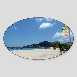 WiFi in Paradise Sticker (Oval)