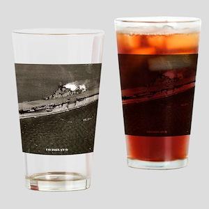 essex cv framed panel print Drinking Glass