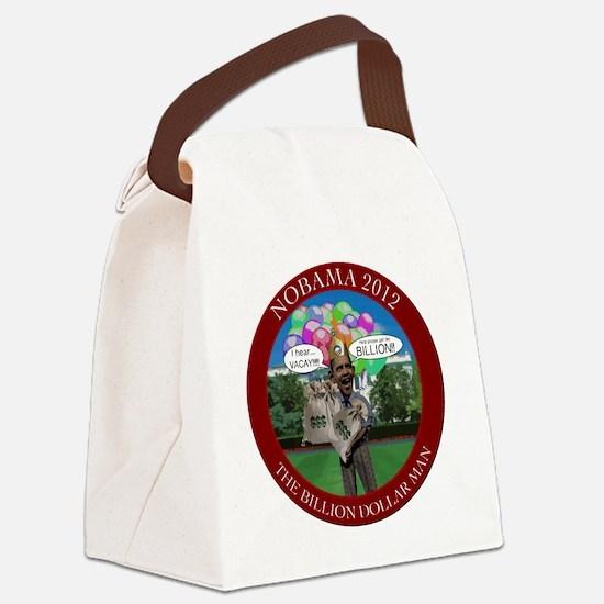 BillionDollarMan Canvas Lunch Bag