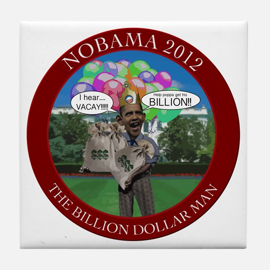 BillionDollarMan Tile Coaster