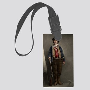 16X20 Billy the Kid Color Print Large Luggage Tag