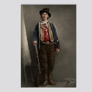 16X20 Billy the Kid Color Postcards (Package of 8)