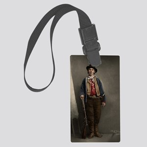 23X35 Billy the Kid Color Print Large Luggage Tag