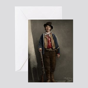 23X35 Billy The Kid Color Print Greeting Card