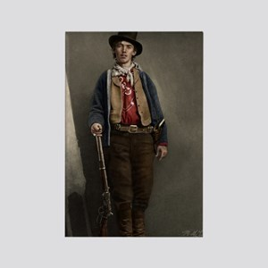 23X35 Billy the Kid Color Print Rectangle Magnet