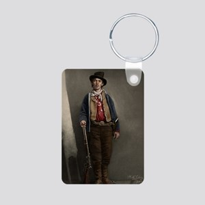 23X35 Billy the Kid Color  Aluminum Photo Keychain