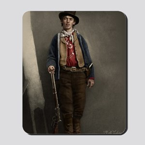 23X35 Billy the Kid Color Print Mousepad