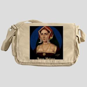 14X10 Anne Boleyn Print Messenger Bag