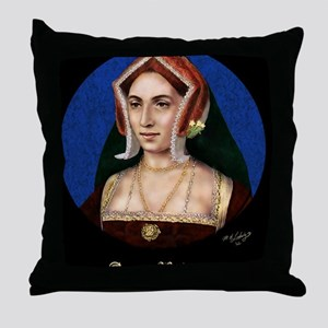 9X12 Anne Boleyn Print Throw Pillow