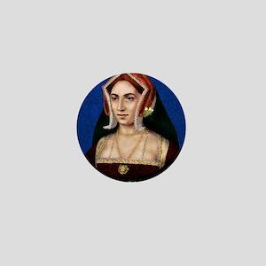 14X10 Anne Boleyn Print Mini Button