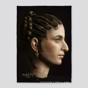 23X35 Cleopatra VII Print 5'x7'Area Rug