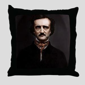 16X20 Edgar Allan Poe Print Throw Pillow