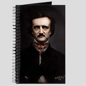 9X12 Edgar Allan Poe Print Journal