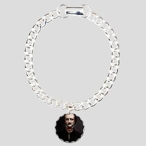 9X12 Edgar Allan Poe Pri Charm Bracelet, One Charm