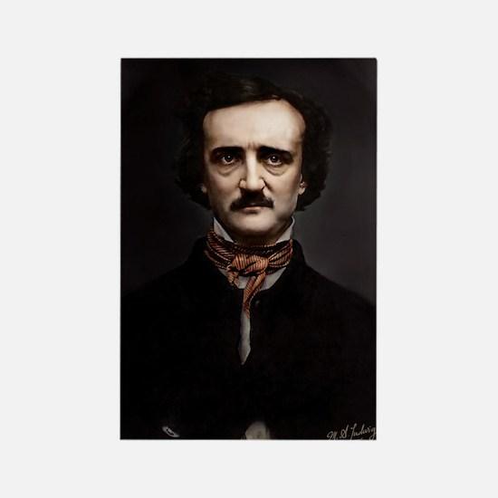 9X12 Edgar Allan Poe Print Rectangle Magnet
