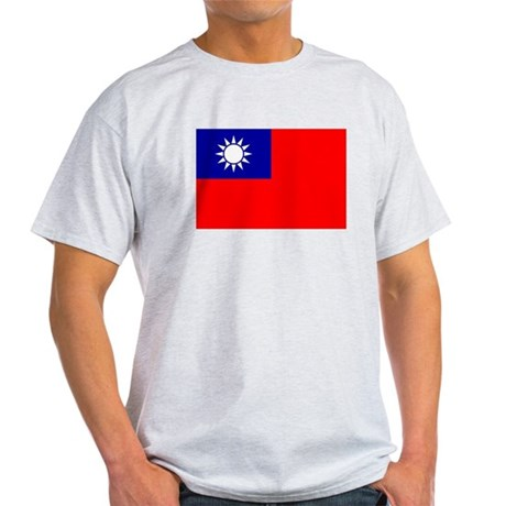 Taiwan Flag Light T-Shirt