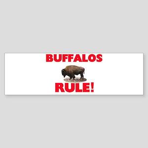 Buffalos Rule! Bumper Sticker