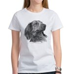 Long-Haired Dachshund Women's T-Shirt