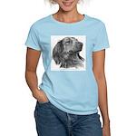 Long-Haired Dachshund Women's Light T-Shirt
