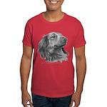 Long-Haired Dachshund Dark T-Shirt