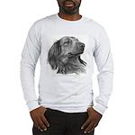 Long-Haired Dachshund Long Sleeve T-Shirt