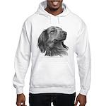 Long-Haired Dachshund Hooded Sweatshirt