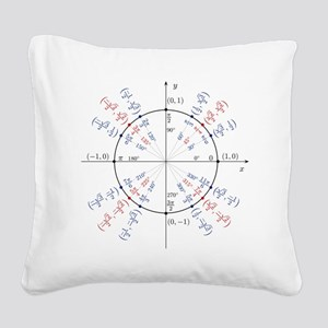 unitcircles Square Canvas Pillow