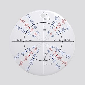 unitcircles Round Ornament