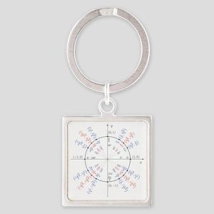 unitcircles Square Keychain