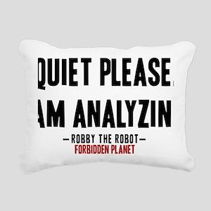 forbidden-planet-quiet-p Rectangular Canvas Pillow